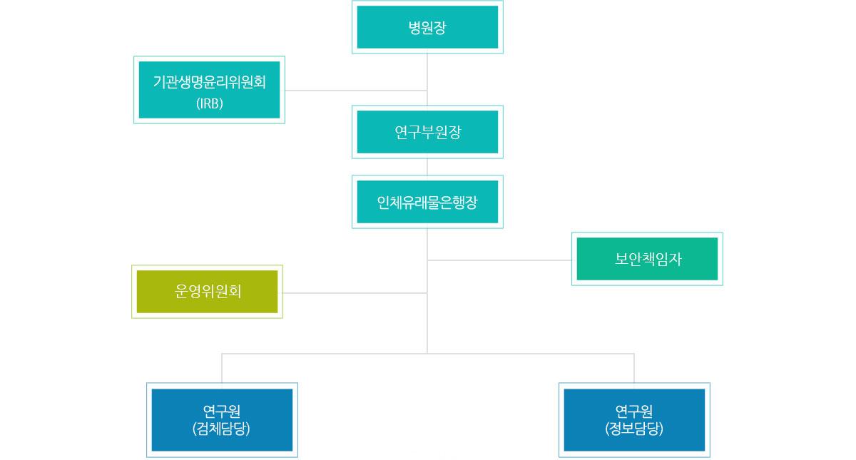 서울성모병원조직도